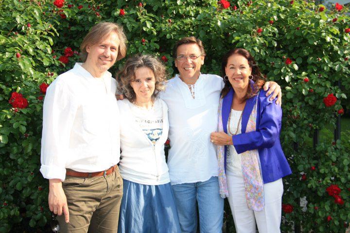 Paolo, Susanna, Yvan e Claudia