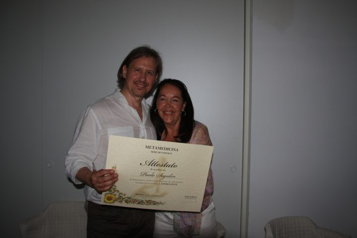 Con Claudia Rainville (Fondatrice della Metamedicina)