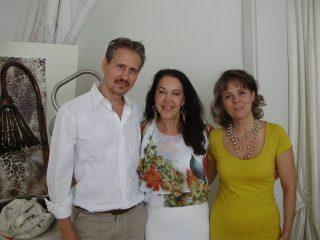 Paolo, Claudia e Susanna (il nostro primo seminario nel 2011)