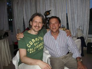 Con il mio amico Yvan Herin (Animatore e Formatore degli Animatori di Metamedicina)